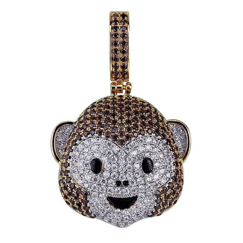 Iced Out Monkey Emoji