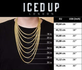Gold Chain Size Guide