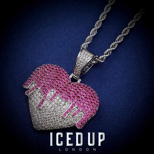 Dripping Heart Pendant