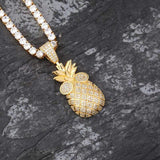 Diamond Pineapple Pendant