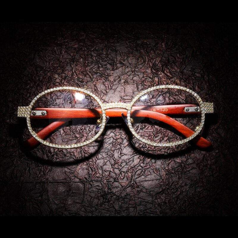 Diamonds Round Glasses