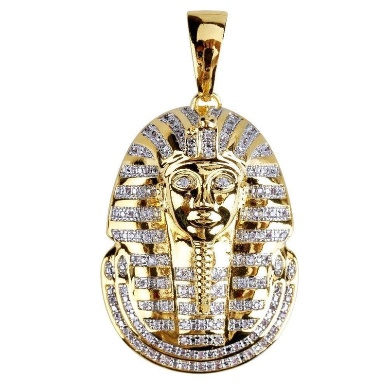 Iced Out Pharaoh Pendant