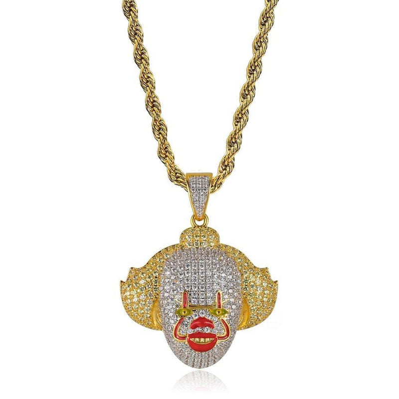 iced out pennywise pendant
