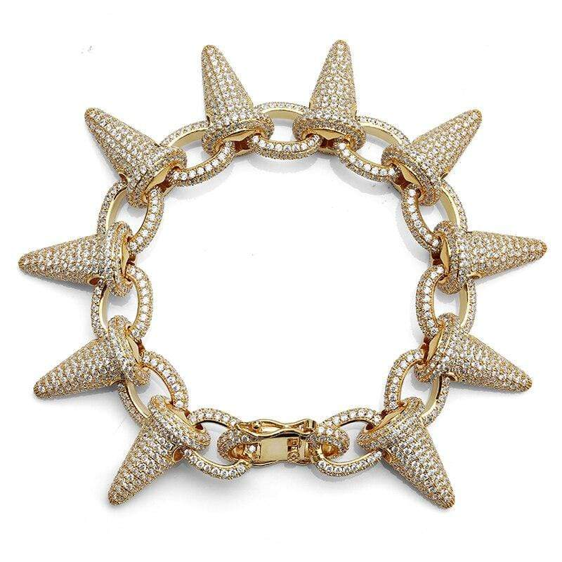 Spiked Iced Out Bracelet
