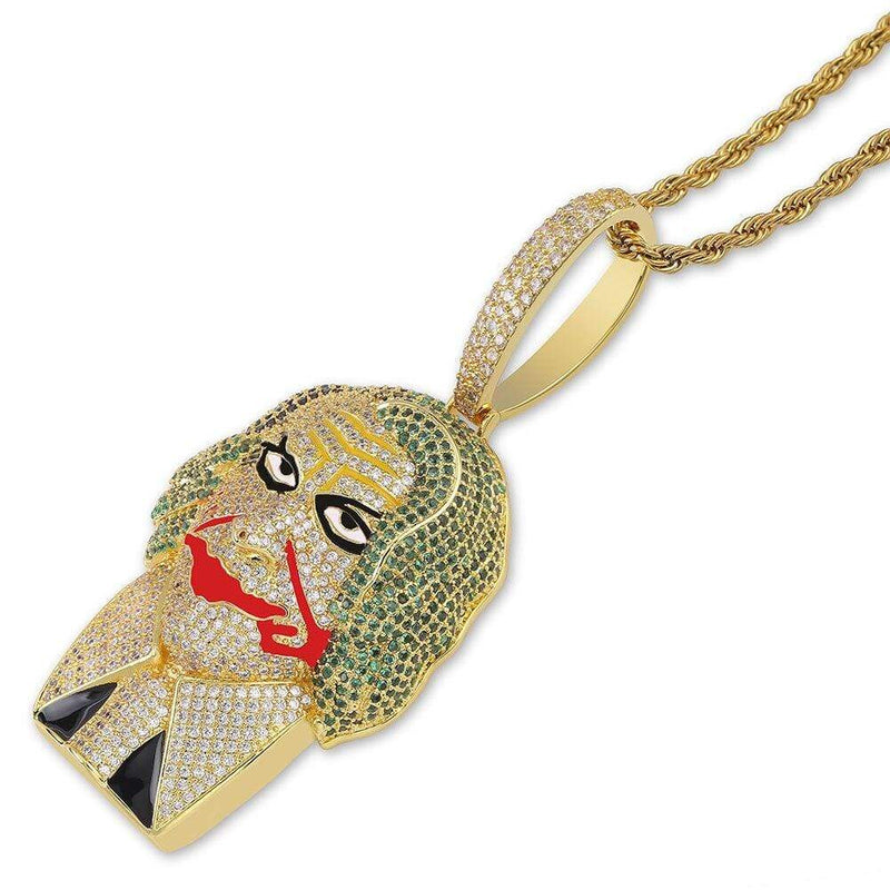 Iced Out Clown Pendant