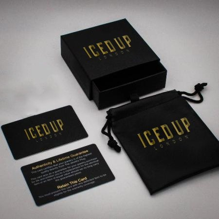 Iced Up London Packaging