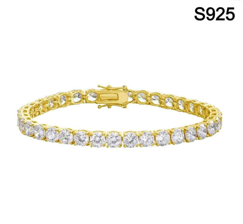 Iced Out S925 Tennis Bracelet