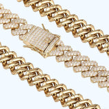 Iced Out Sharp Chain