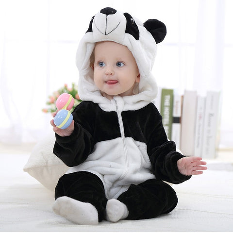Cartoon Baby Romper