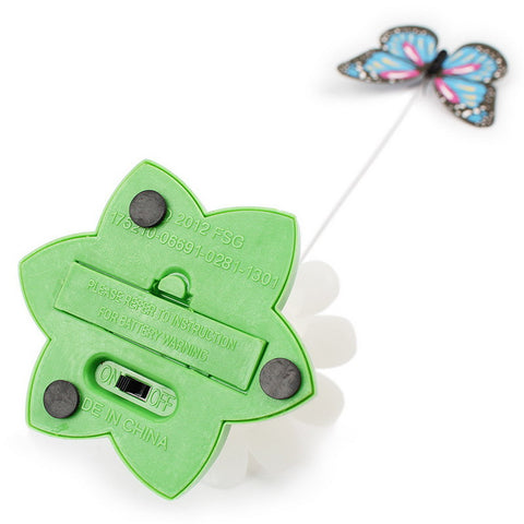 Image of Electric Butterfly Cat Toy