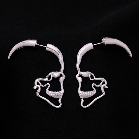 Image of Skull Stud Earrings