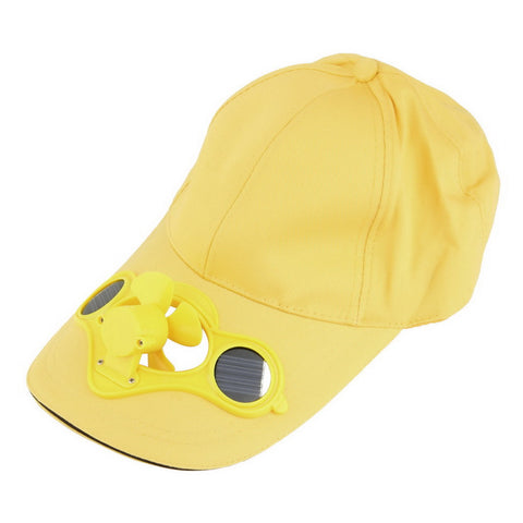 Image of Solar Power Fan Cap