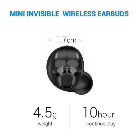 Image of Mini Wireless Bluetooth Headphone