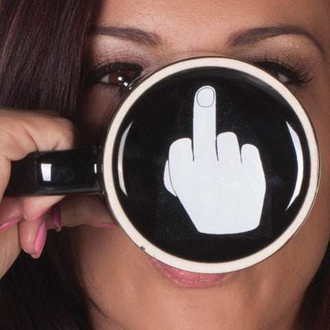 Have a Nice Day Fingure Mug