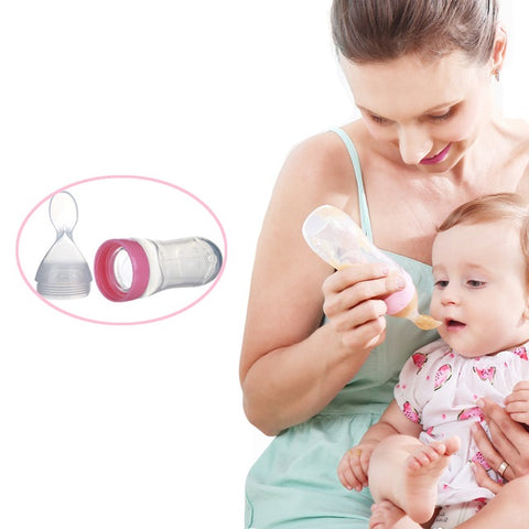 Feeding Bottle With Spoon