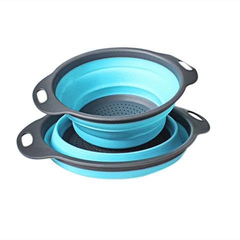 Image of Collapsible Silicon Colander Set