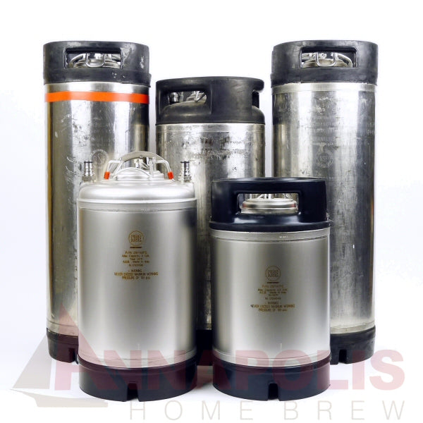New Ball Lock Kegs