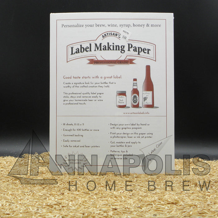 Label Making Paper