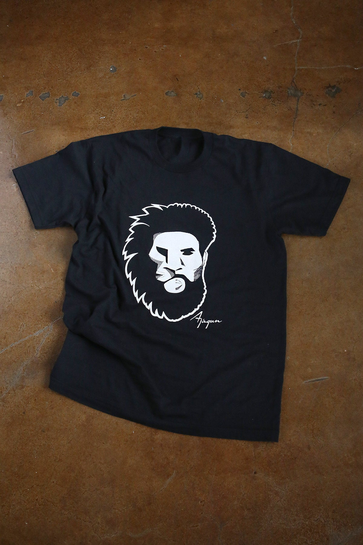 Ajagun Beard Brand T shirt Men's