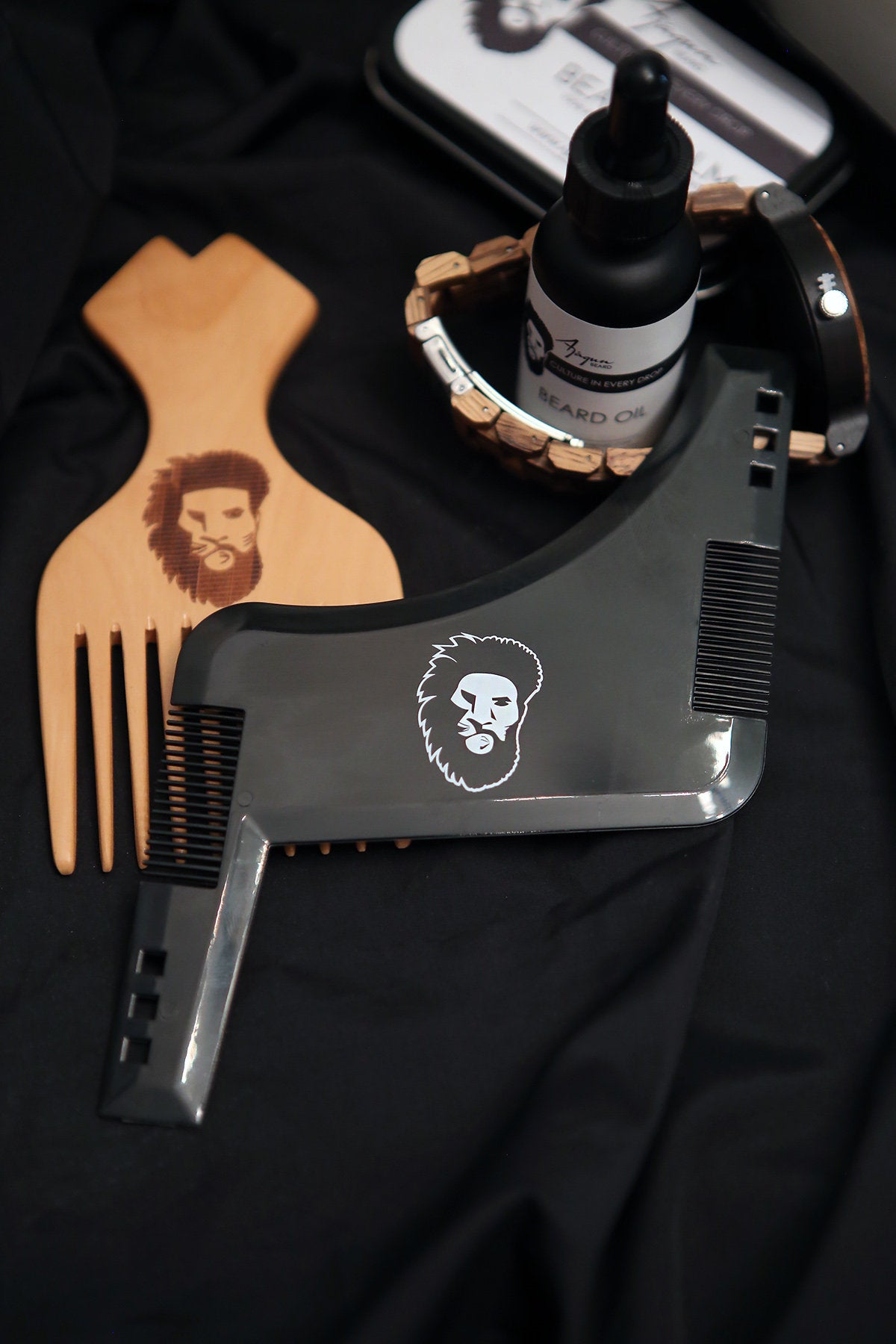 Ajagun Beard Grooming Shaper