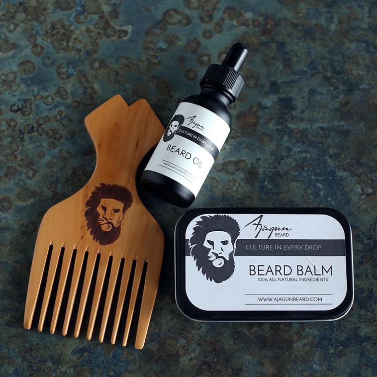 Ajagun Beard Oil Product Set