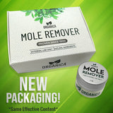 ORGANICA' MOLE AND WARTS REMOVAL CREAM (New Packaging)