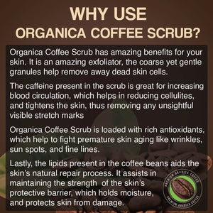 Organica Coffee Body Scrub 500ml