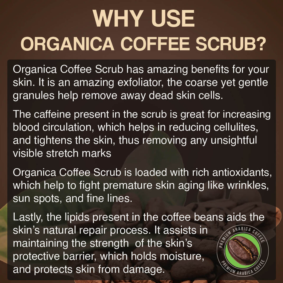 why use coffee scrub