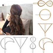 Hair clip with different symbols - dare to wear your hair