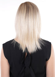 Mono Top 14 - Topper, Remy Human Hair, Lace Front