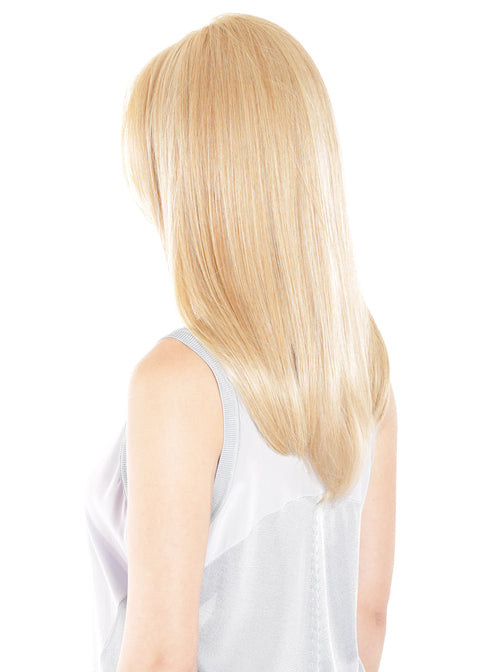 Mono Top 18 - Topper, Remy Human Hair, Lace Front