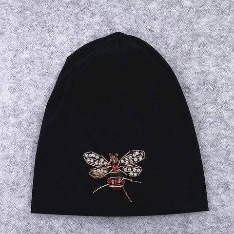 Bee Slouchy beanie - dare to wear your hair