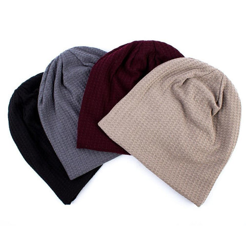 Cotton Comfortable Beanie - dare to wear your hair