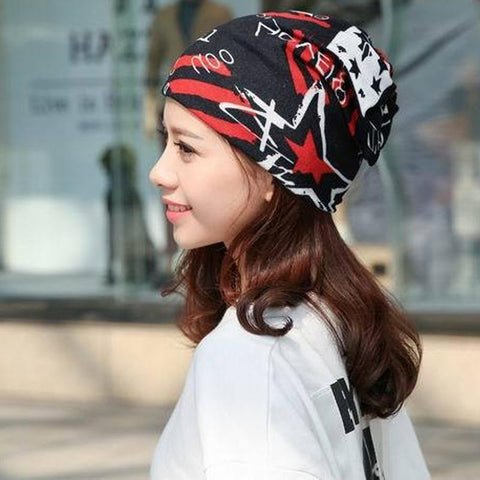 Cotton Ponytail Beanie - Small - dare to wear your hair