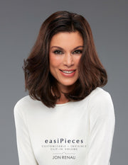 "easiPieces - 12"" Length 6"" Width - dare to wear your hair"