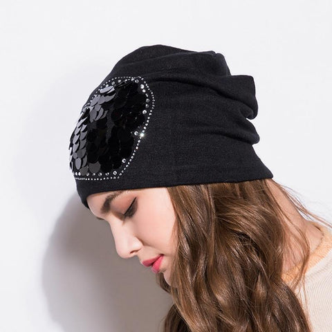 Elegant Handmade Beanie - dare to wear your hair