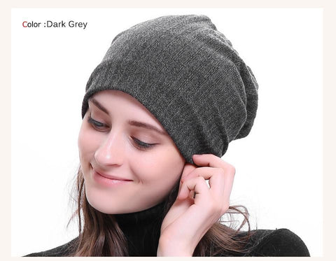 Ribbed Cotton Beanies - dare to wear your hair