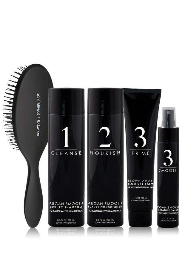 Human Hair Care System – 5pc kit - dare to wear your hair