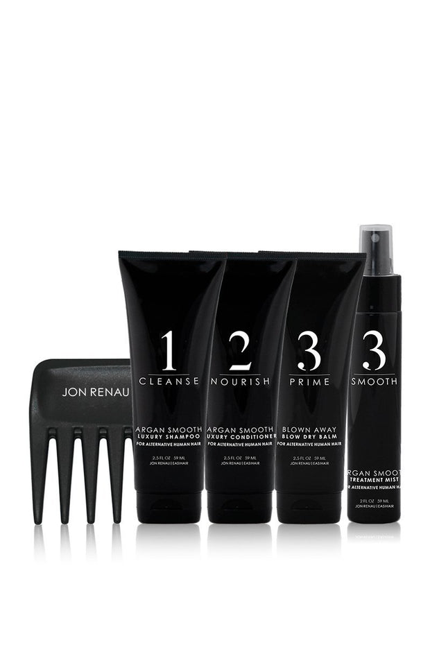 Human Hair Care System – 5pc Travel Kit - dare to wear your hair