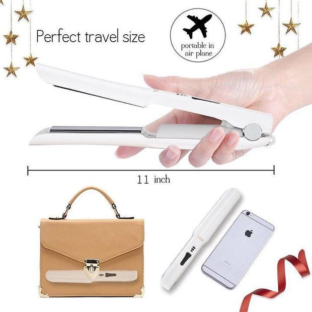 Portable USB Hair Stylish Flat Iron - dare to wear your hair