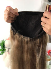 SHOSHY.....Bandfall Pony Wig Custom Made (Kosher) - dare to wear your hair