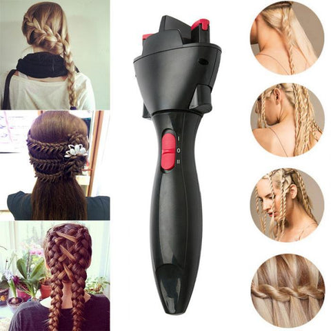 Smart Electric Braided Hair tool Twist Braided Curling Iron Tool Hair Styling Tool - dare to wear your hair