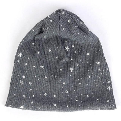 Stars on Earth Cotton Beanie - dare to wear your hair