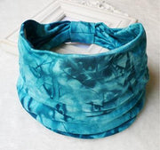 Tie Dye BOHO Wide Stretchy Bandana - dare to wear your hair