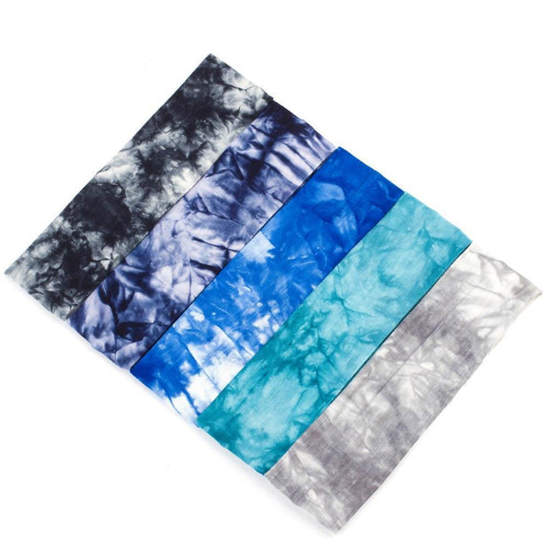 Tie Dye Elastic Summer Headband - dare to wear your hair