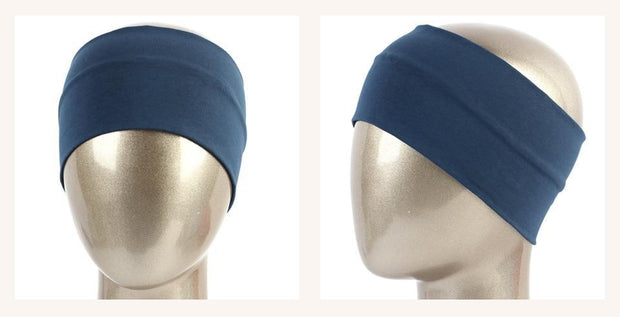 Wide Cotton Stretch Headband - dare to wear your hair