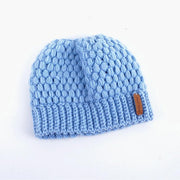 Knitted Ponytail Hat - dare to wear your hair