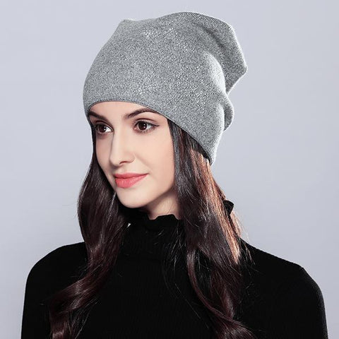 Woollen Winter Beanie - dare to wear your hair