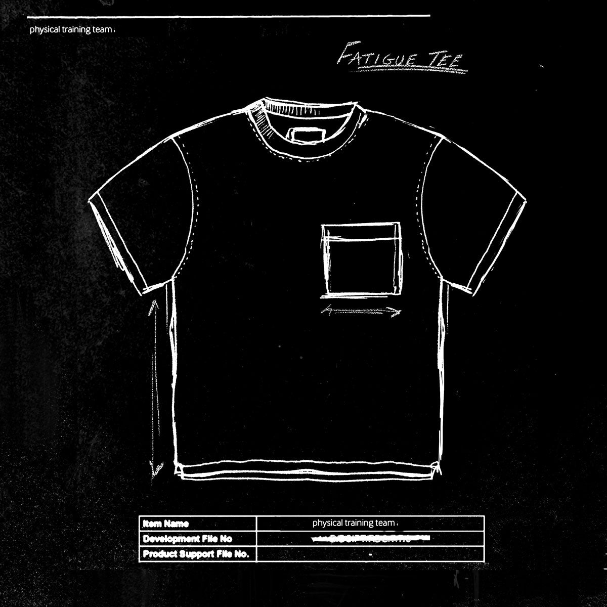 From The Archives - Fatigue Tee – issue #RE0497
