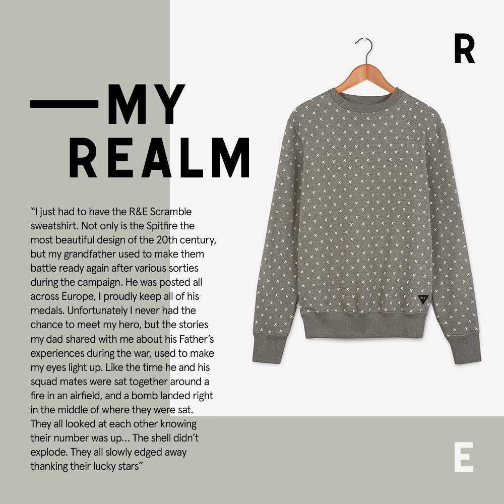 #MYREALM - Scramble Sweatshirt by Rob Gillison